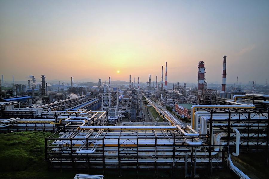 SK Innovation's Ulsan refining complex