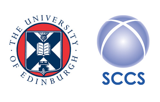 University of Edinburgh and SCCS logos